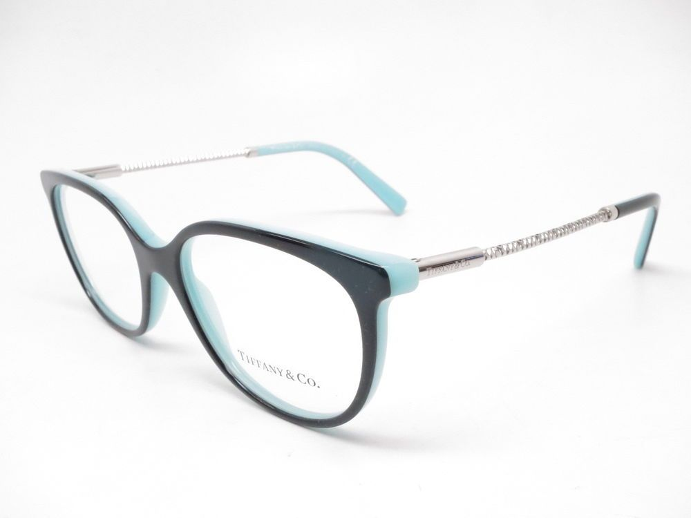 4ef49a50af Brand   Tiffany   Co Model Number   TF 2168 Color Code   8055 Frame Color    Black Blue Lens Color   Clear (Demo lenses