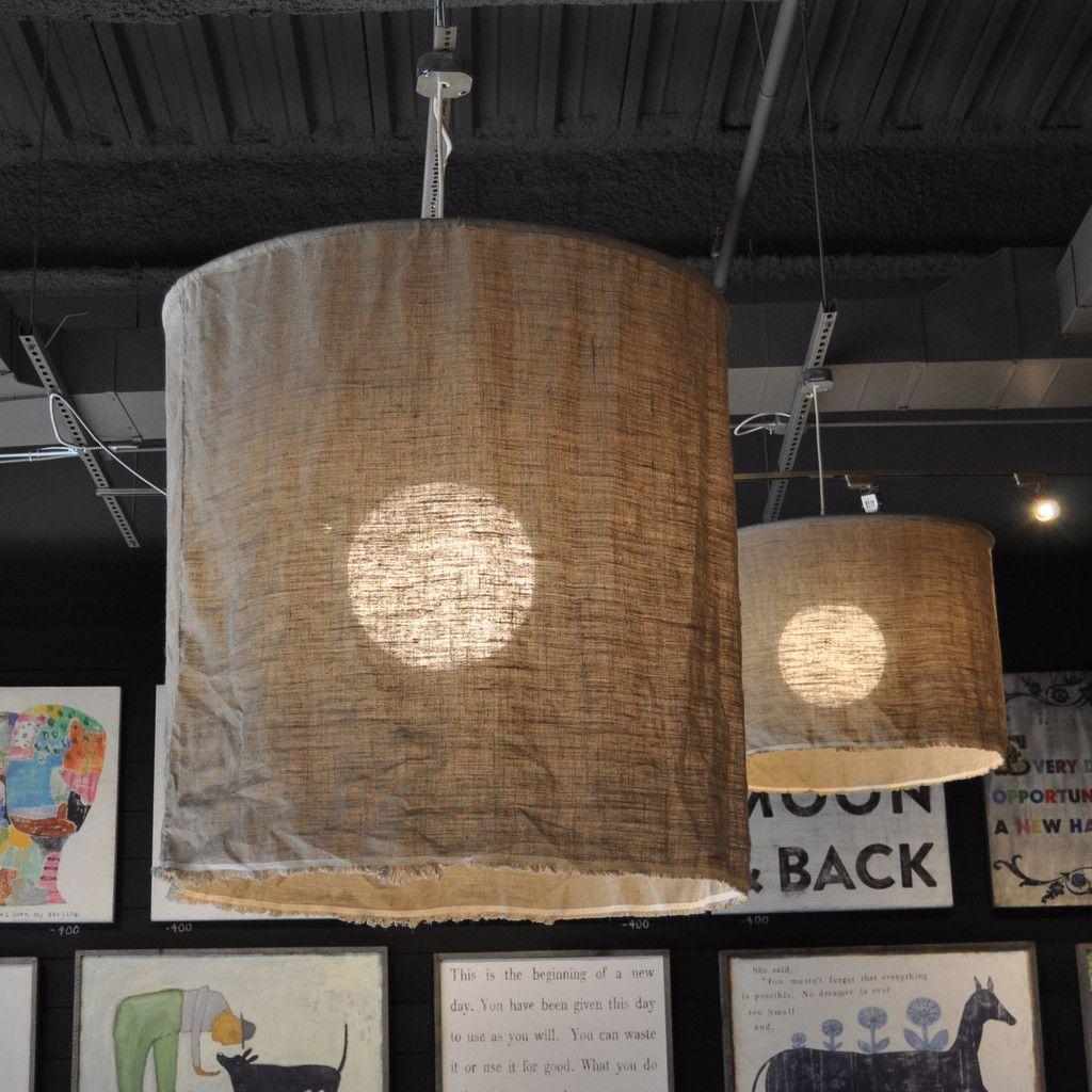 Linen pendant light projects pinterest pendants and cord linen pendant light mozeypictures Gallery