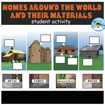 Homes Around The World And Their Materials Student Activity