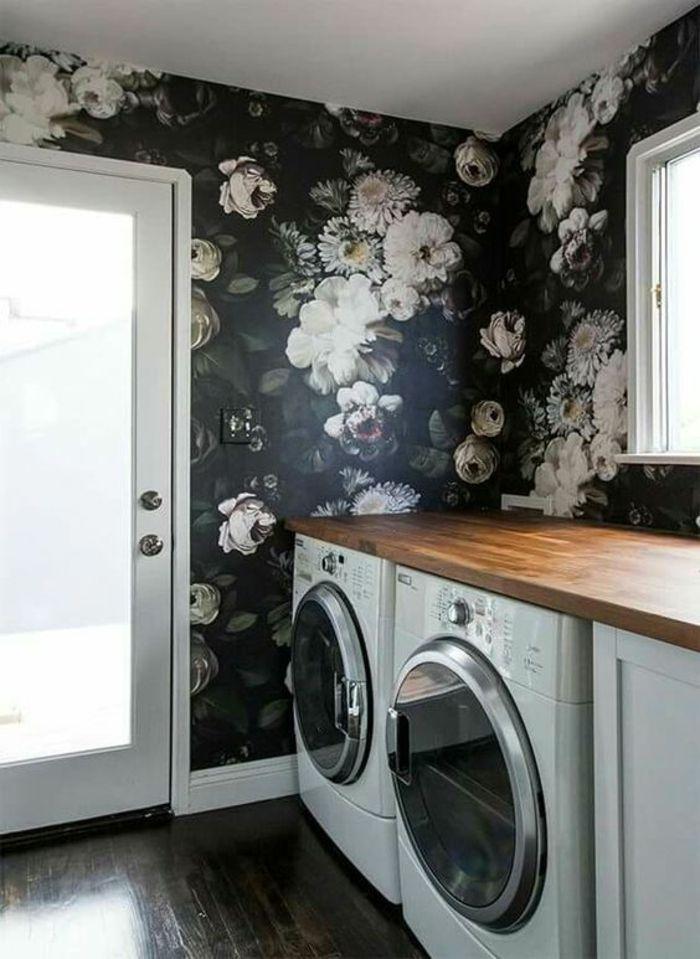 mustertapeten für die waschküche aussuchen