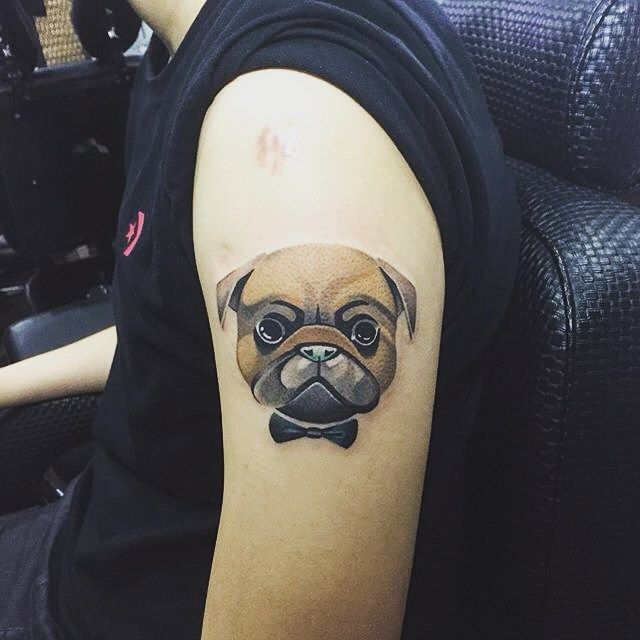 Pug The Junior Tattoo By Ying Tattoo We Ll Pets Lover Are Always