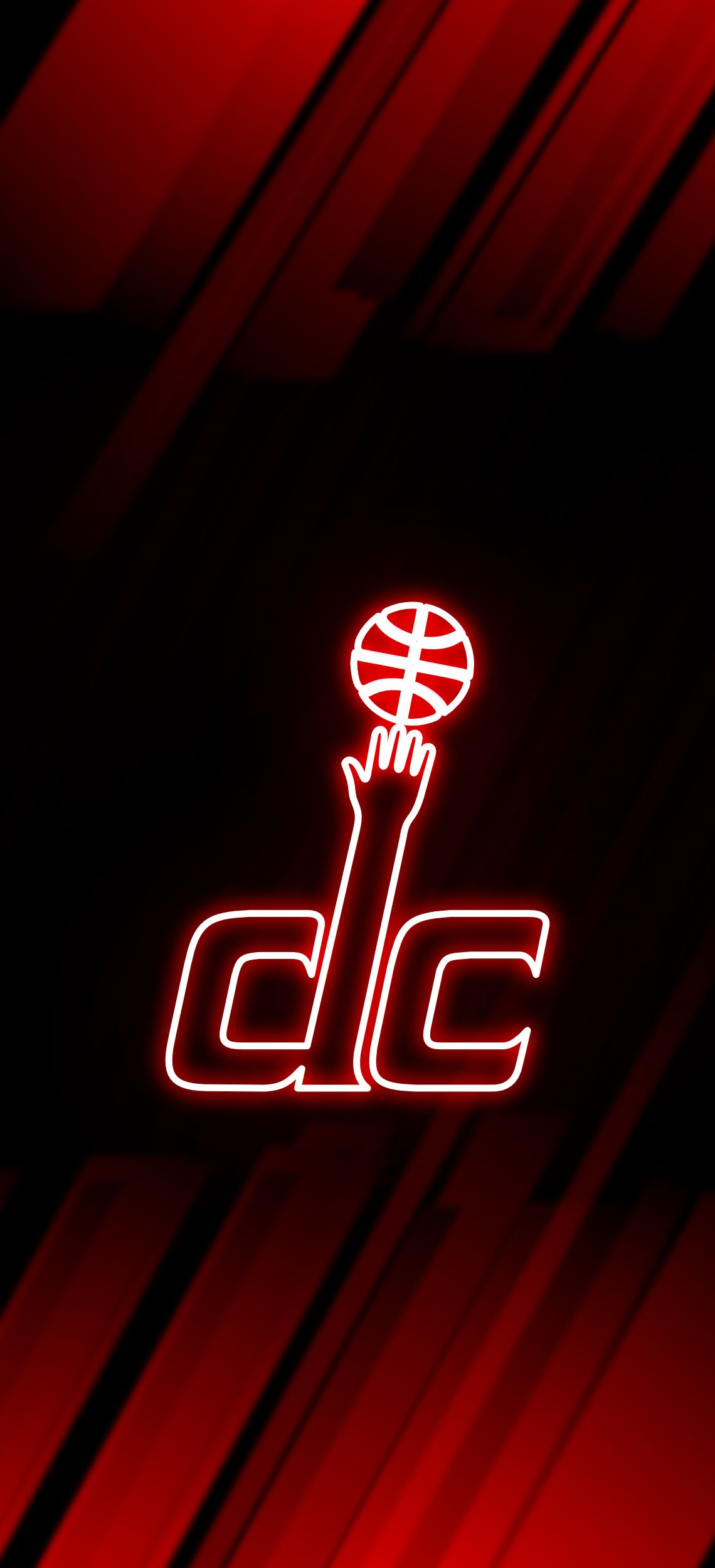 Washington Wizards Neon Wallpaper Washington Wizards Nba Basketball Teams Basketball Wallpaper