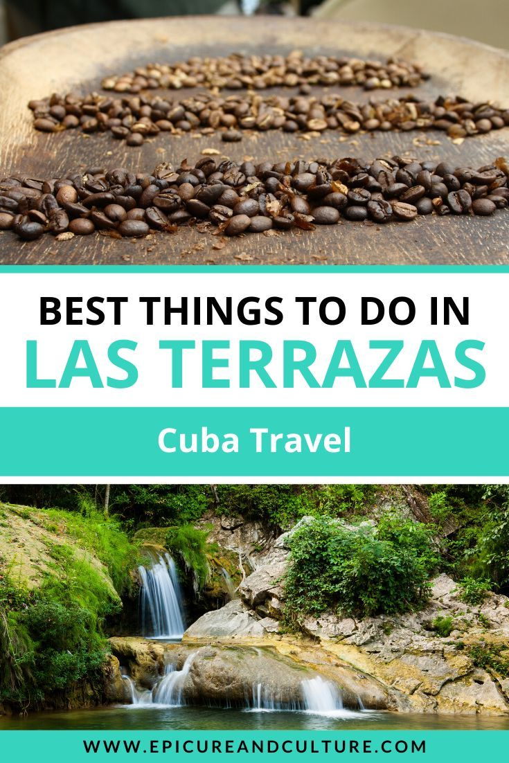 Las Terrazas is a place you should definitely add to your Cuba travel bucket list, especially if you want to get off the beaten path. Luckily, this post features the best things to do in Las Terrazas, from visiting coffee plantations to hiking in pristine forests and beyond! It's a great place to visit if you care about responsible tourism, too! // #CubaTravel #LasTerrazas #ResponsibleTourism #BucketList #OffTheBeatenPathTravel