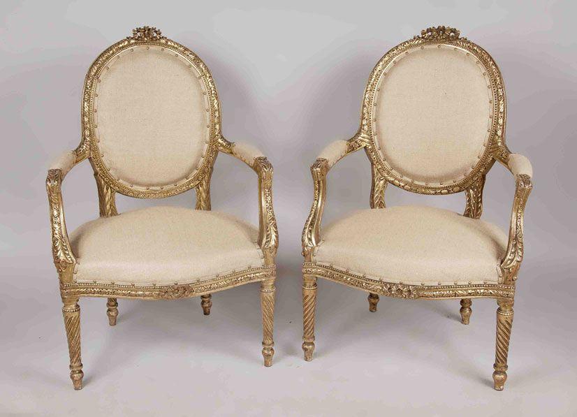 Estilo luis xvi decoration pinterest sillas for Sillones de estilo