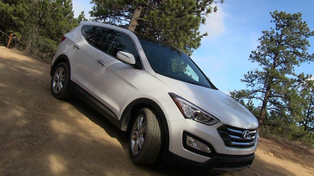 2013 Hyundai Santa Fe Sport AWD on & offroad Review