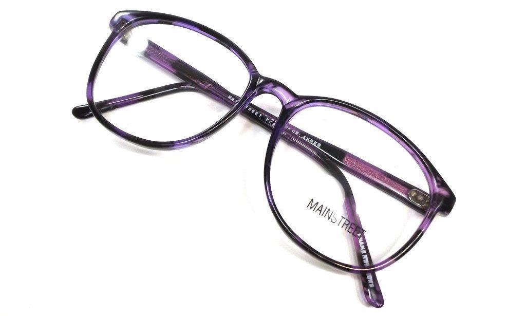 938b18461f4a vintage 80s deadstock oversize round purple eyeglasses retro huge big frame  plastic eye glasses eyewear translucent tortoise shell smart 160 by ...
