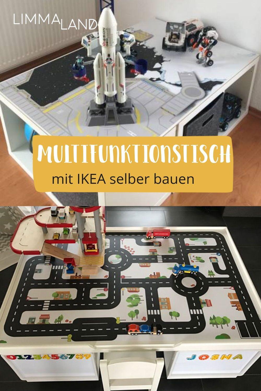 Hier seht ihr, wie ihr einen Multifuktionstisch mit IKEA