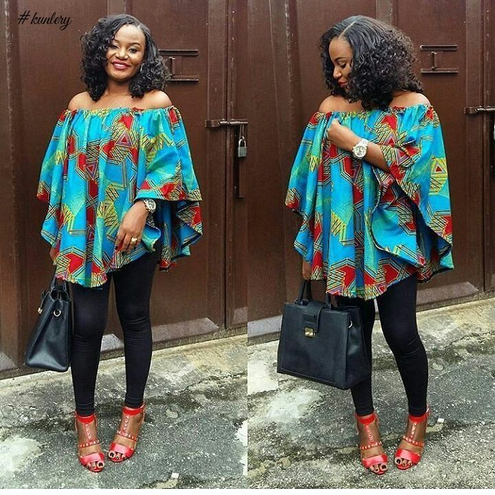 Top ten unique ankara off shoulder styles 2017 dabonke African fashion designs pictures