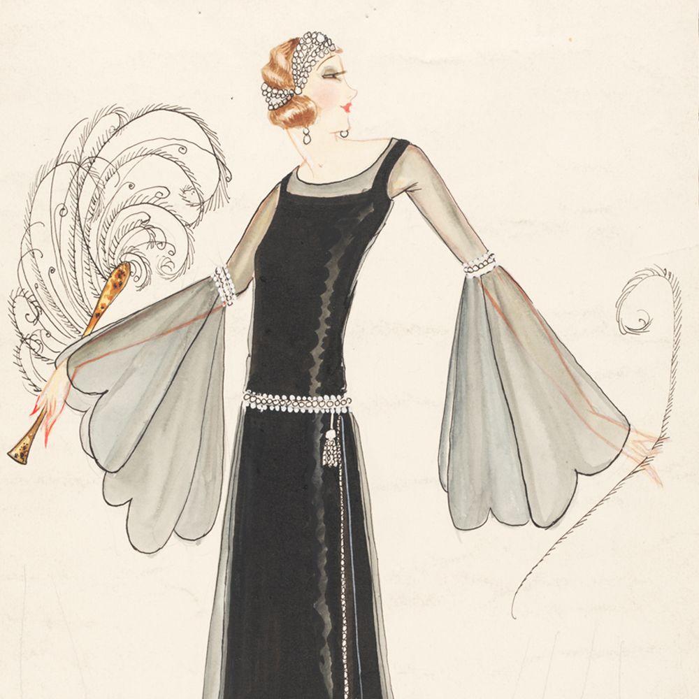Chanel Fashion | Norman Hartnell (1901-79), fashion design, London, 1920s.  Museum no .
