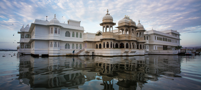 The palace is built by Maharana Jagat Singh II as his own