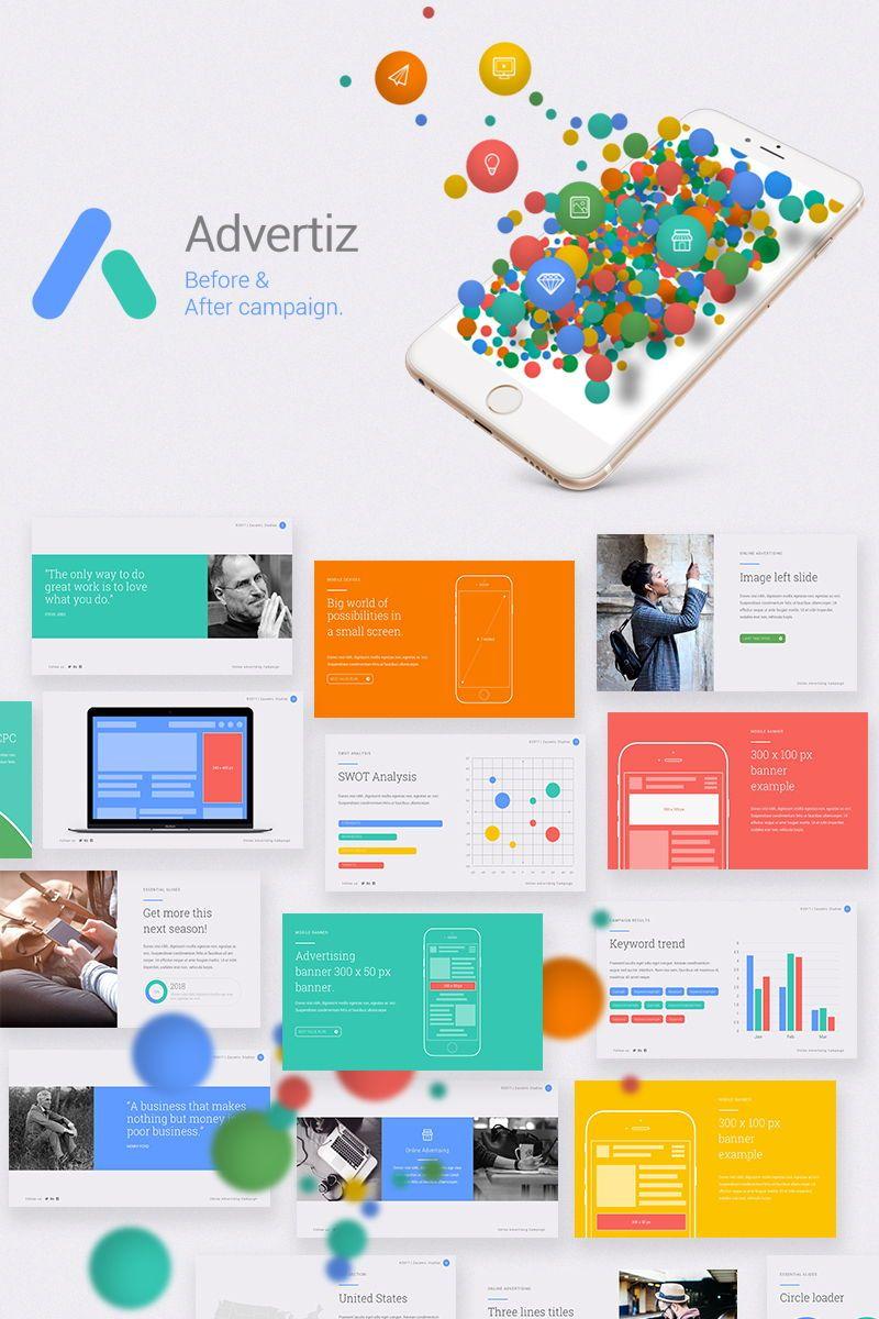 Advertiz Advertising Presentation Template Powerpoint