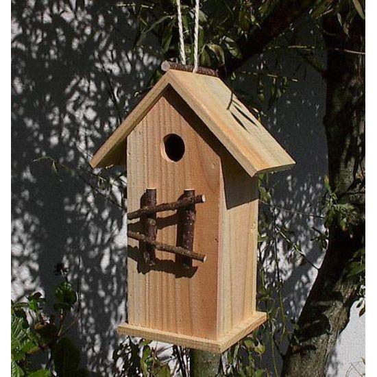 comment fabriquer une cabane d 39 oiseau recherche google oiseau pinterest bois naturel. Black Bedroom Furniture Sets. Home Design Ideas