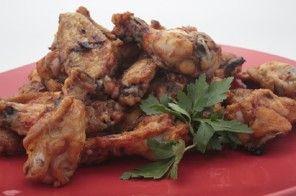 A chicken wing smorgasbord