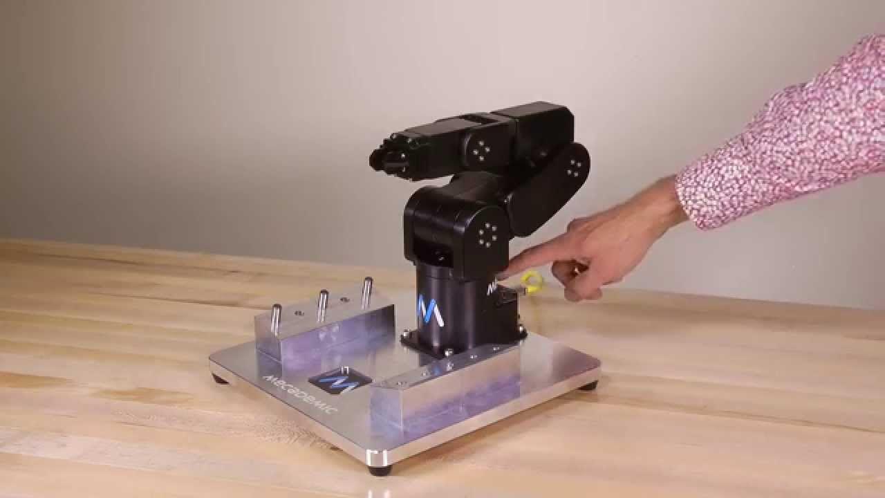 Mecademic High Accuracy 6 DOF Robot arm   robot arms   Robot arm