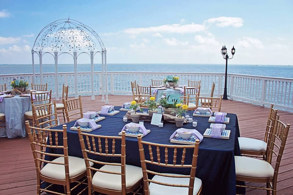 Beautiful Wedding on the Water at Celebrations at the Bay ...