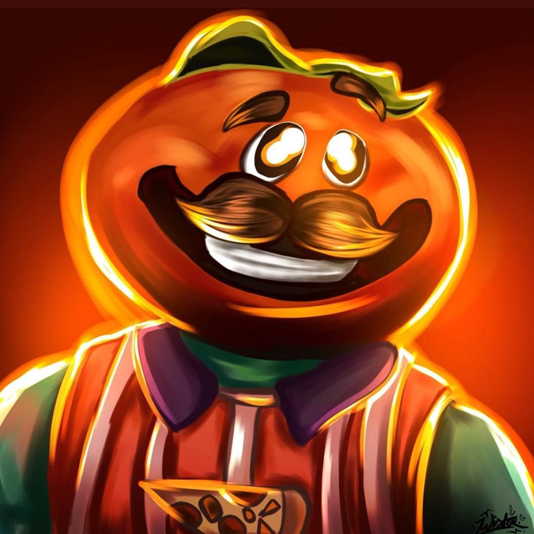 Awesome Tomato Head Fan Art Credit Zwqst Artz Twitter Fortnite