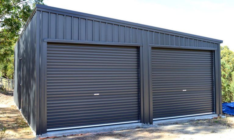 Garages All Shed Solutions Double Garage Garage Design Shed