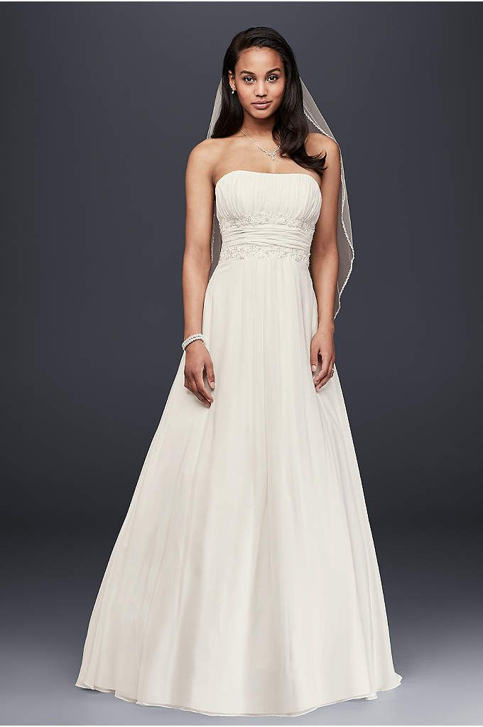 Strapless Sweetheart Trumpet Wedding Dress Style V3476 | Pinterest ...