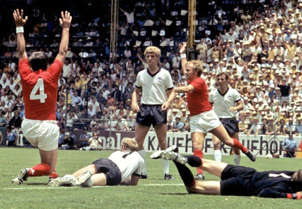 GERMANIA OVESTINGHILTERRA 23 1970 quarti di finale