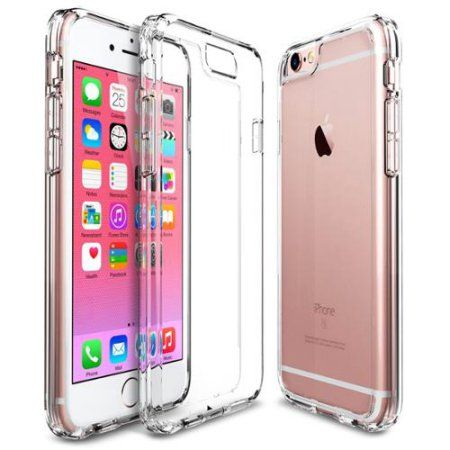 cheap for discount e3b87 b9a9f iPhone 6s Case, iPhone 6 Case, ULAK [CLEAR SLIM] Transparent Case ...