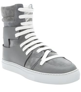 213837a7a6 ... Leather High Top Sneakers. Kris Van Assche sneakers - trainers - kicks  - footwear - shoes
