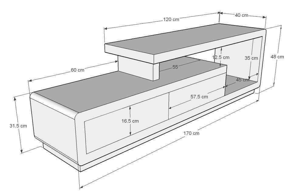 Mueble De Tv Ref Artaban De 170 Cm En Madera Lacada 609 000 Tv Room Design Tv Unit Furniture Tv Furniture