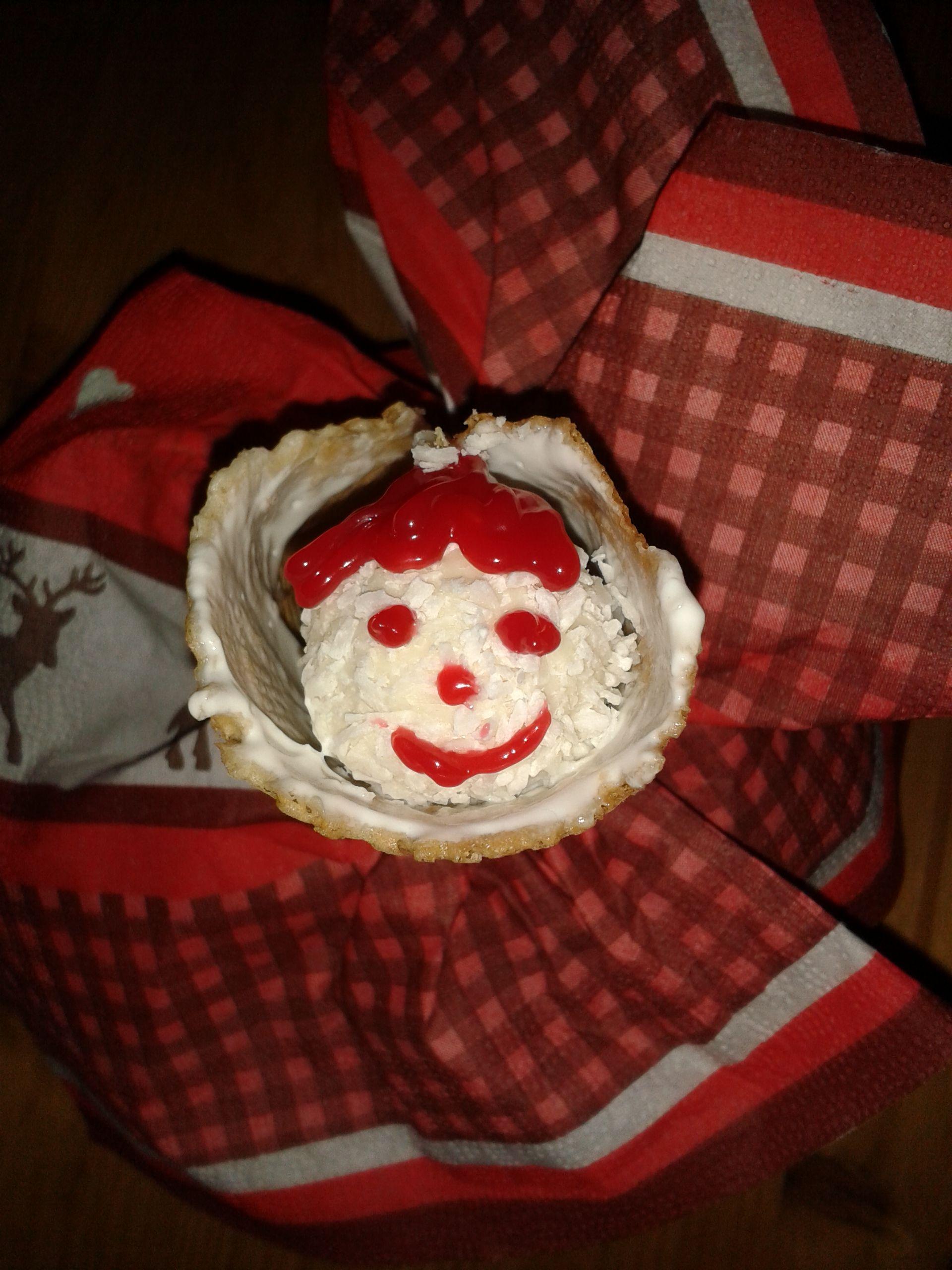 #LisaFreundeskreis #Raffaello Süße Waffeltüte mit Raffaello ;)