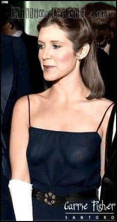 Pin auf CARRIE FISHER HOT-Bye,Bye sexy Carrie-Hottest