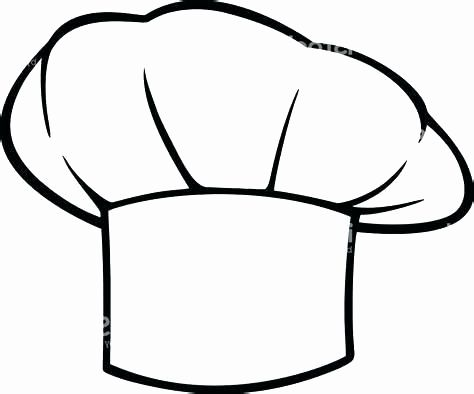 Chef Hat Template Printable for Printable Hat Template