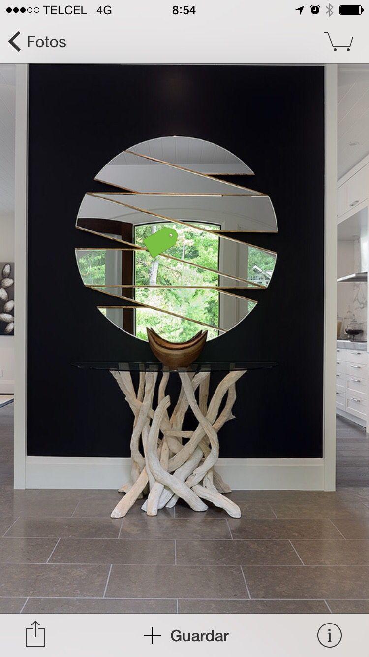 Decorative mirrors for dining room mesa de entrada  interior design  pinterest  mirror mirror