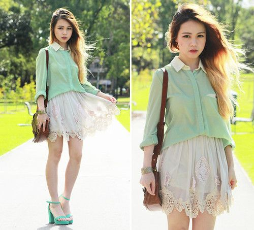 asia, beautiful, chic, clothes