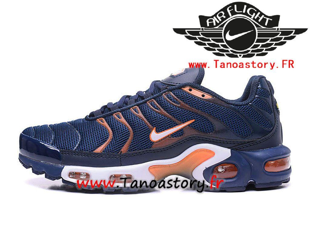 Chaussures Homme Nike Air Max Plus Tn 2017 ID Officiel Nike Prix Pas Cher  Bleu Orange