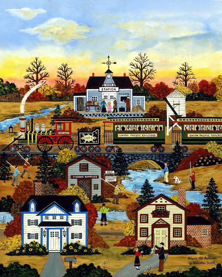 Jane Wooster Scott — Allure Of Autumn (723x900