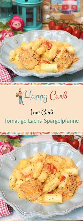 Photo of Tomato Salmon Asparagus Pan – Happy Carb Recipes