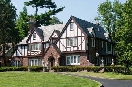Tudor style home pics