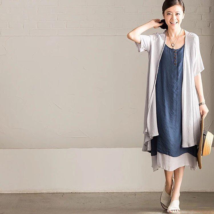 Art thin linen coat W755A 25th new arrival ▶️www.fantasylinen.com