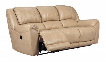 Ashley Yancy 2920288 91 Reclining Sofa With Pillow Top Arms Top