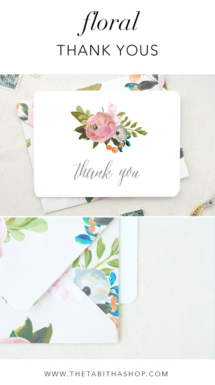 floral thank yous to say a special thanks after your