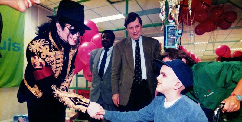 Michael Jackson à Amsterdam (Pays-Bas)