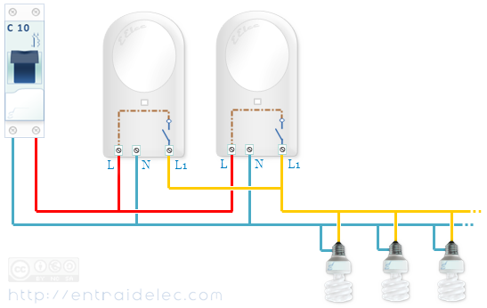 relier plusieurs d tecteurs entre eux portail pinterest detecteur lectricit et electrique. Black Bedroom Furniture Sets. Home Design Ideas