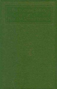 Methods Of Theoretical Physics Part I Philip Mccord Morse