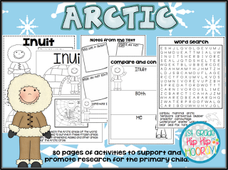 Arctic Animals...Informational Text, Crafts, and