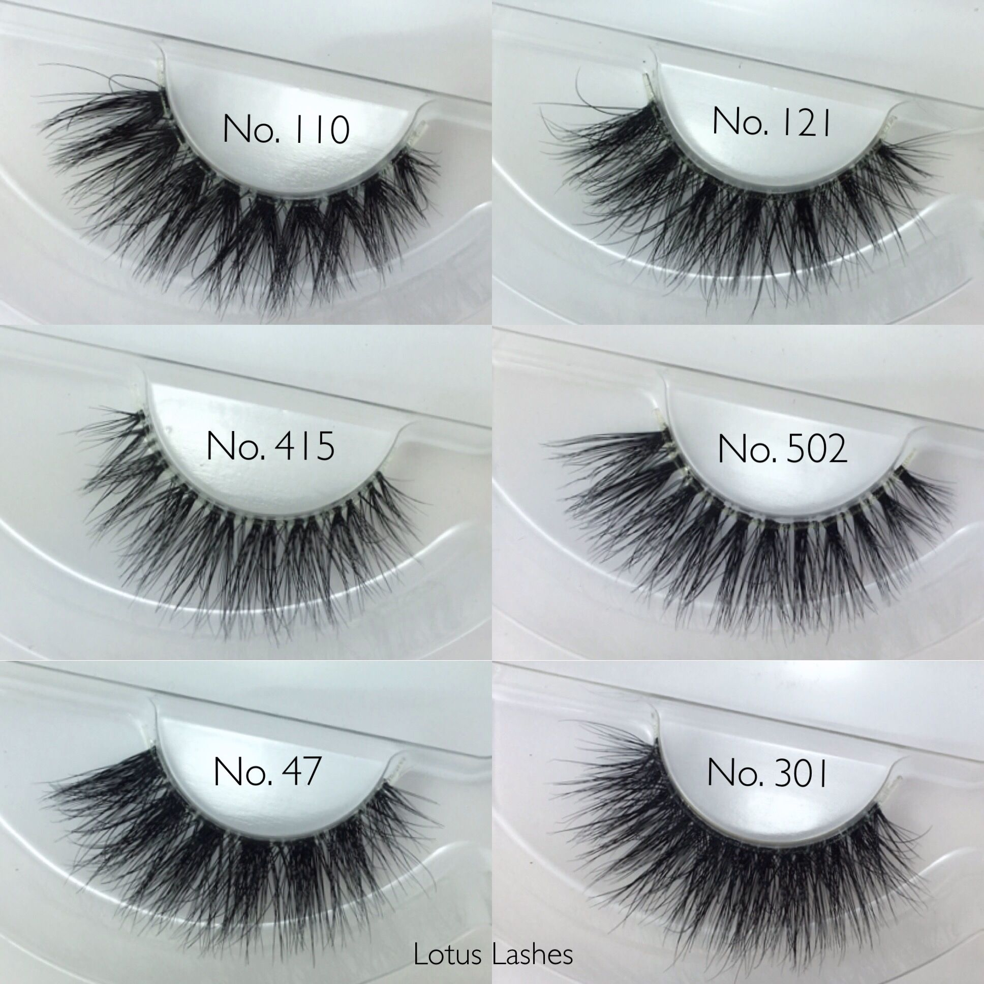 cf6fc7a3aa7 {Crystal Collection} 3D mink lashes with a soft/flexible clear band for  indescribable comfort and the most natural look possible. #bandless  #LotusLashes