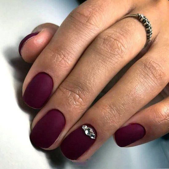 30 Stunning Burgundy Nails Designs That Will Conquer Your Heart With Images Red Acrylic Nails Burgundy Nails Trendy Nails