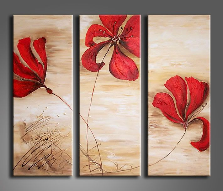Canvas painting on pinterest canvas paintings small for Abstract mural ideas