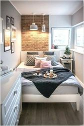 Photo of 25 Small Bedroom Ideas That Are Look Stylishly & Space Saving #bedroomstorageide…
