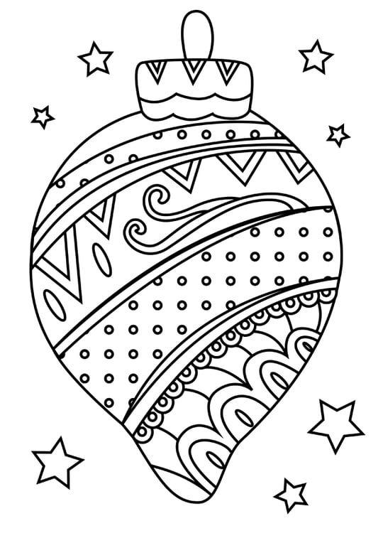 bunte weihnachtsballfarbtonseite  art plastique