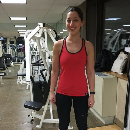 Weight loss workout with dumbbells