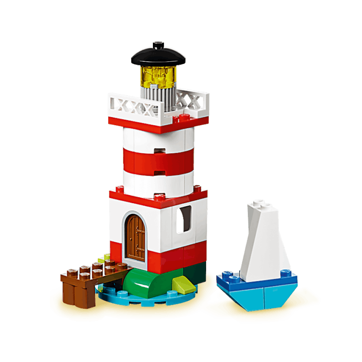 Lego Instructions For Multiple Things Lighthouse Penquins Fish