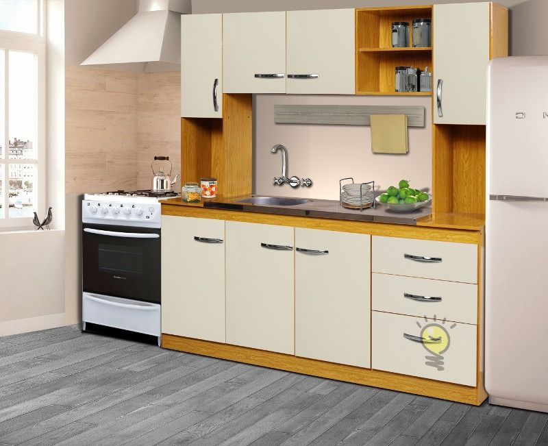 combo-cocina-alacena-bajomesada-bacha-organizador-modular | cocina ...
